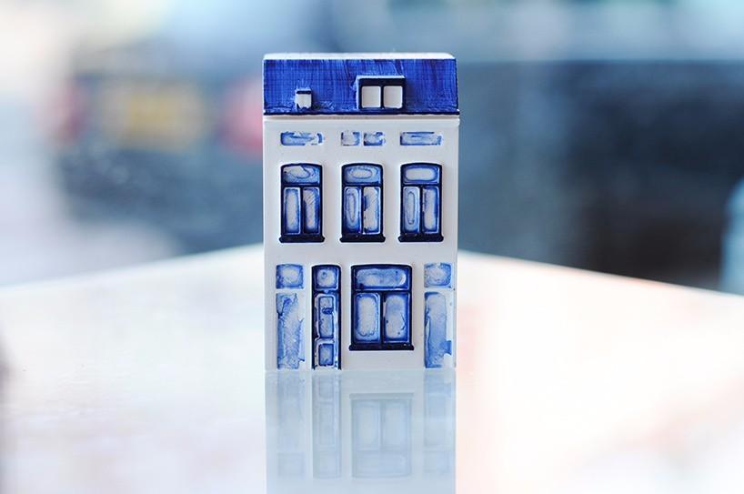 成人这样玩过家家!3D打印代尔夫特房屋