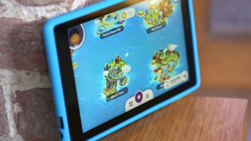 智玩乐趣多Verizon GizmoTab儿童平板
