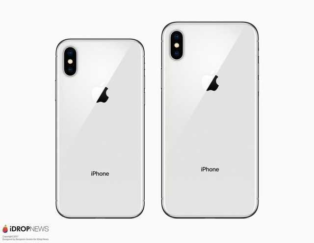 还有一款更大的6.5英寸OLED屏幕iPhone X Plus