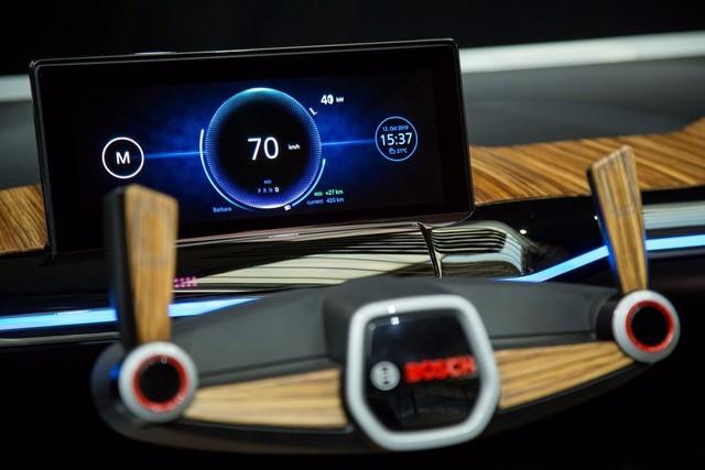 BOSCH在CES2017推未来语音识别概念车
