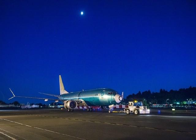 中国首架波音737 MAX 8看起来还不错