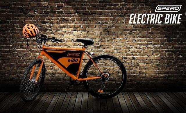 时髦的城市通勤:SPERO E-Bike电动车