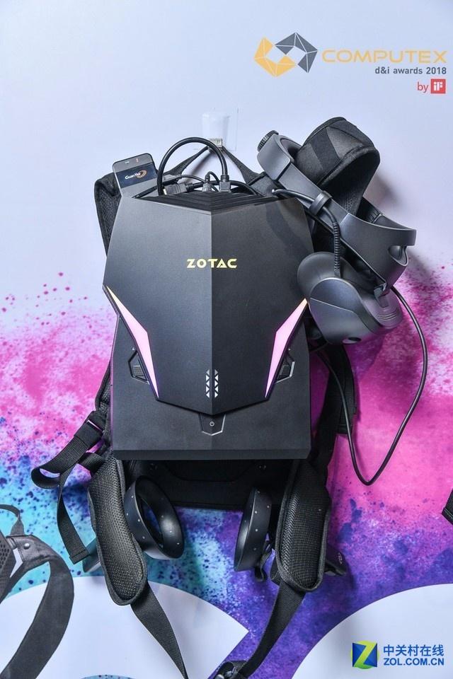 索泰展台揭密 高端电竞产品与全新VR背包